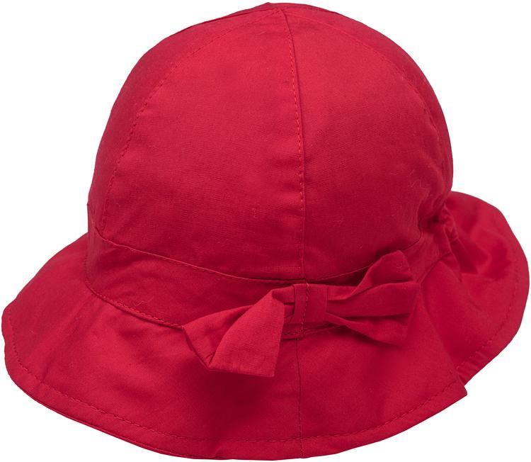 Панама для девочки PlayToday, цвет: красный. 278024. Размер 46278024Стильная панама PlayToday для девочки, изготовленная из натурального хлопка, идеально подойдет вашей маленькой моднице. Небольшие поля надежно защитят голову ребенка от перегревания, а глаза от попадания прямого солнечного света.В этой модной панаме ваша малышка всегда будет в центре внимания!