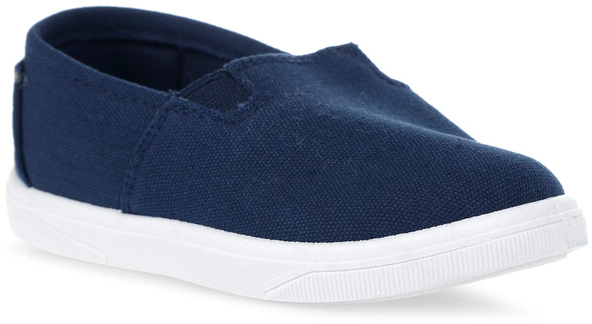 Кеды детские In Step, цвет: темно-синий. 188A-2/4. Размер 24188A-2/4Стильные детские кеды от In Step выполнены из высококачественного текстиля. Подошва из резины устойчива к изломам. На подъеме модель дополнена эластичными вставками для удобства надевания. Аккуратно смотрятся на ноге, комфортно носятся.