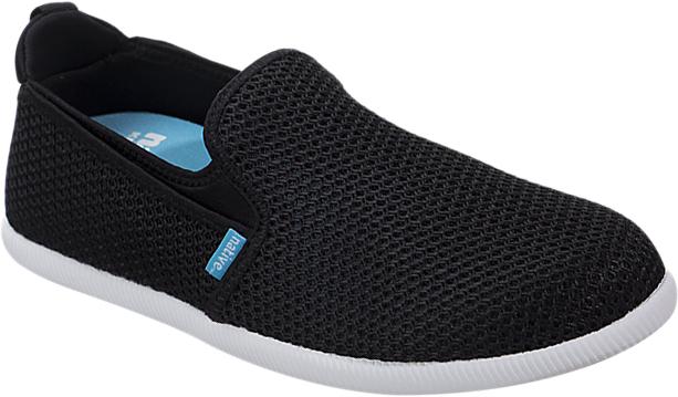 Слипоны мужские Native Cruz, цвет: черный. 21104700-1105. Размер 8 (40)21104700-1105Стильные слипоны Cruz от Native - отличный выбор для тех, кто ведет активный образ жизни. Модель выполнена из текстиля с вязаным эффектом. На подъеме предусмотрены эластичные вставки для лучшего прилегания обуви к ноге. Текстильная петелька, расположенная на заднике, облегчает обувание. Мягкая внутренняя поверхность и текстильная стелька создают комфорт при движении. Легкая резиновая подошва имеет отличную амортизацию. Рифление на подошве гарантирует отличное сцепление с любыми поверхностями. Модные и удобные слипоны займут достойное место в вашем летнем гардеробе.