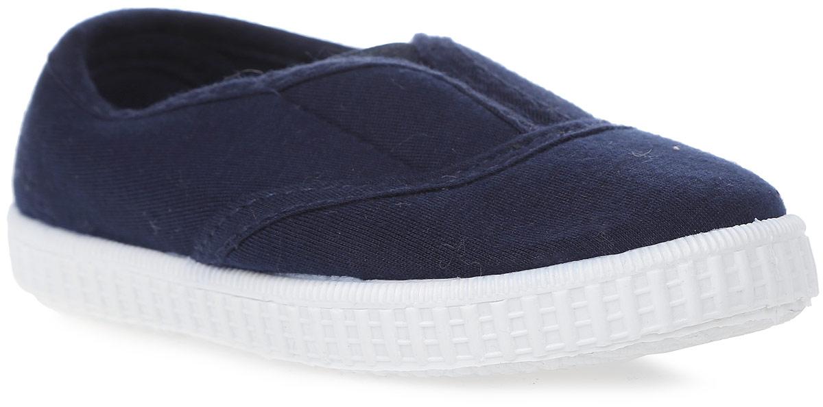 Кеды детские In Step, цвет: темно-синий. 632B-4. Размер 27632B-4Стильные детские кеды от In Step выполнены из высококачественного текстиля. Подошва из резины устойчива к изломам. На подъеме модель дополнена эластичной вставкой для удобства надевания.