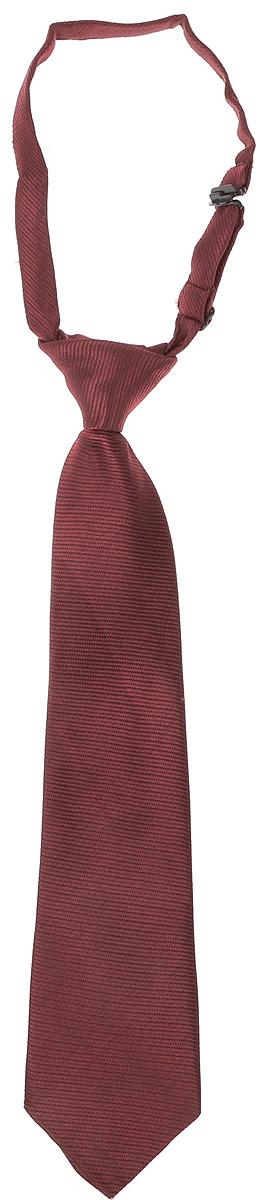 Галстук для мальчиков Scool, цвет: бордовый. 363069. Размер универсальный363069
