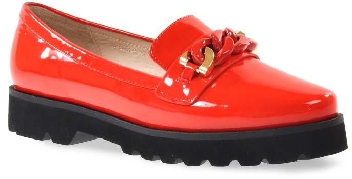 Туфли женские Vera Victoria Vito, цвет: красный. 15-5951-3. Размер 3815-5951-3Удобные женские туфли от Vera Victoria Vito выполнены из натуральной лаковой кожи. Модель дополнена крупным декоративным элементом на носу. Мягкая стелька из кожи комфортна при движении. Подошва оснащена рифлением для лучшего сцепления с различными поверхностями.