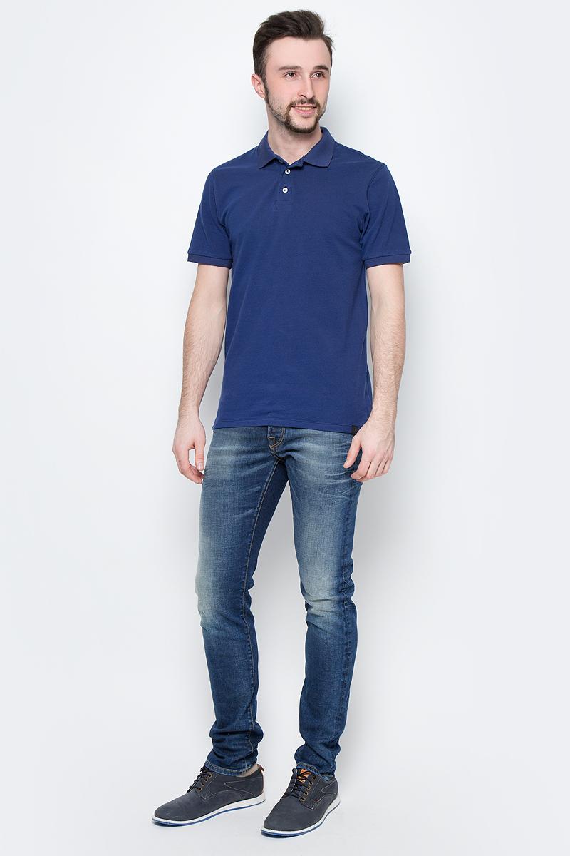 Рубашка мужская Lee, цвет: синий. L60TPYSJ. Размер XXL (54)L60TPYSJ