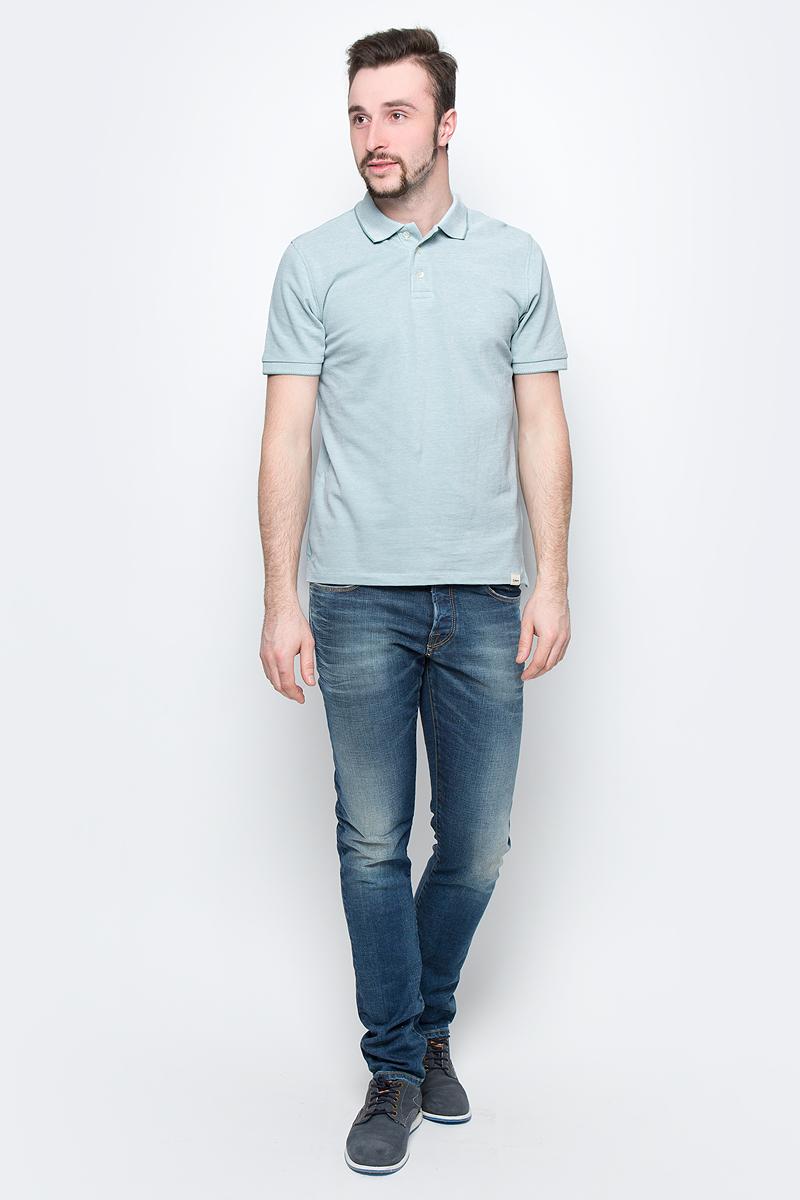 Рубашка мужская Lee, цвет: мятный. L60TPYSB. Размер M (48)L60TPYSB
