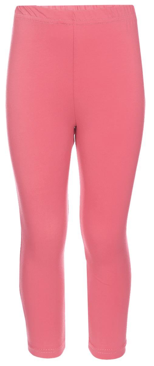Лосины для девочки Клякса, цвет: коралл. ЛС-1. Размер 104ЛС-1Трикотажные лосины изготовлены из мягкого хлопка, они тактильно приятные и не сковывают движения. Модель на талии имеет эластичную резинку.