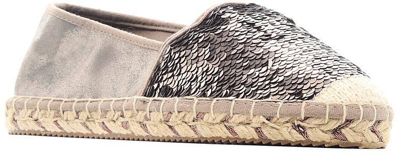 Мокасины женские S.Oliver, цвет: коричневый. 5-5-24220-28-324/227. Размер 375-5-24220-28-324/227Модные мокасины очаруют вас с первого взгляда. Модель выполнена из плотного текстиля и оформлена пайетками. Мягкая стелька из текстиля обеспечивает комфорт при движении. Верх подошвы выполнен из плетеной джутовой нити, низ - из искусственных материалов. Рифленая поверхность подошвы гарантирует идеальное сцепление с любыми поверхностями.