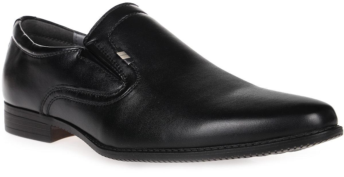 Туфли для мальчика Kakadu, цвет: черный. 6059A. Размер 366059AСтильные туфли от Kakadu придутся по душе, как юным модникам, так и их заботливым родителям. Модель выполнена из искусственной кожи. Стелька из натуральной кожи гарантирует удобство и комфорт. Подошва из термопластичной резины обеспечит легкость и естественную свободу движений.