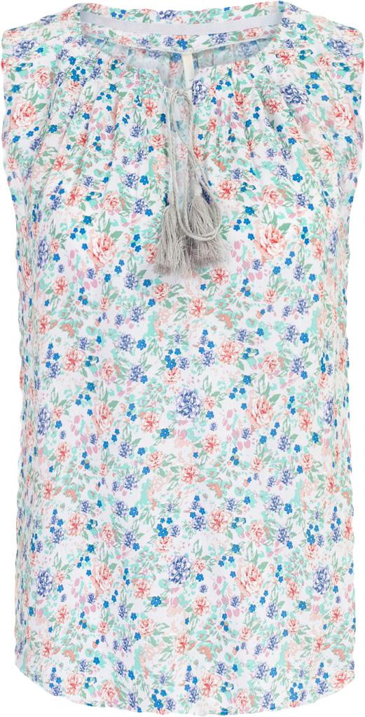 Блузка женская Baon, цвет: серый. B267010_Barely Grey Printed. Размер M (46)B267010_Barely Grey PrintedБлузка женская Baon выполнена из вискозы. Модель с круглым вырезом горловины оформлена оригинальным принтом.