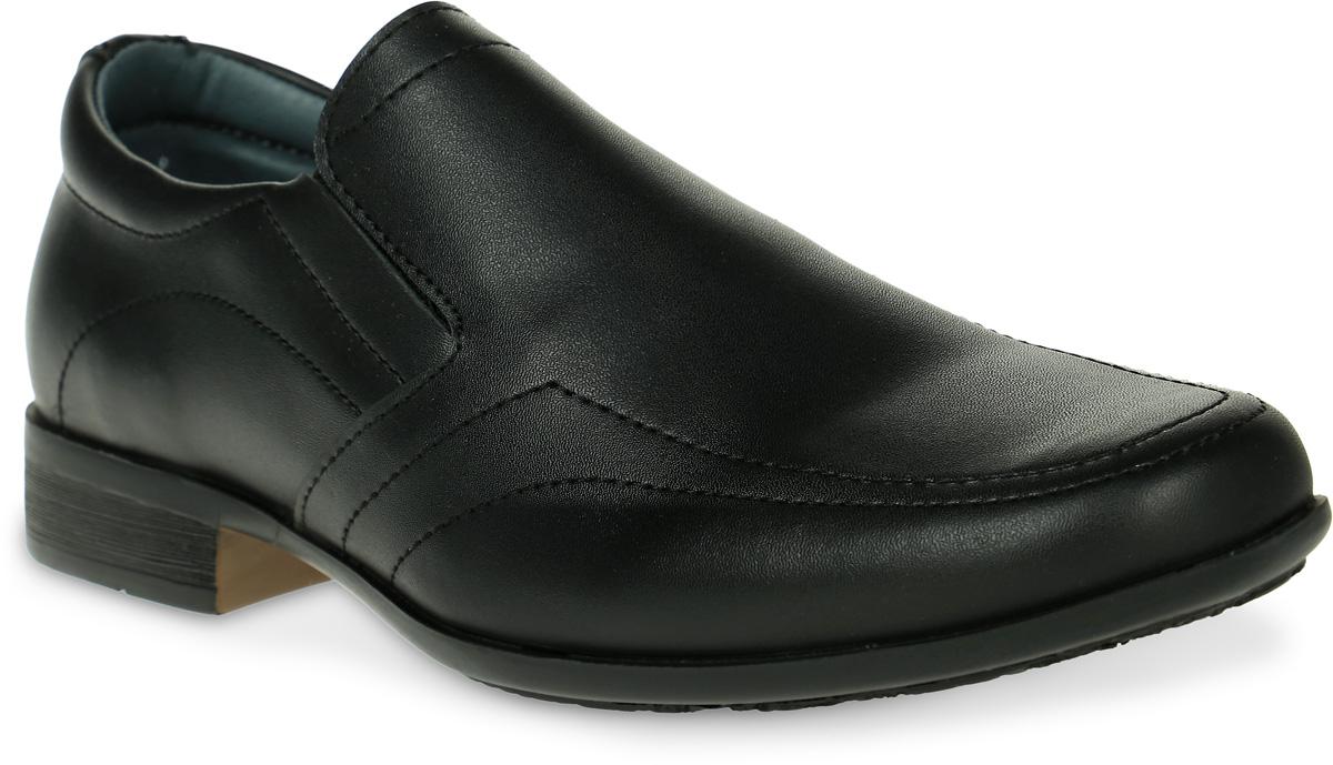 Туфли для мальчика Kakadu, цвет: черный. 6115A. Размер 366115AСтильные туфли от Kakadu придутся по душе, как юным модникам, так и их заботливым родителям. Модель выполнена из натуральной кожи. Стелька из натуральной кожи гарантирует удобство и комфорт. Подошва из ПВХ обеспечит легкость и естественную свободу движений.