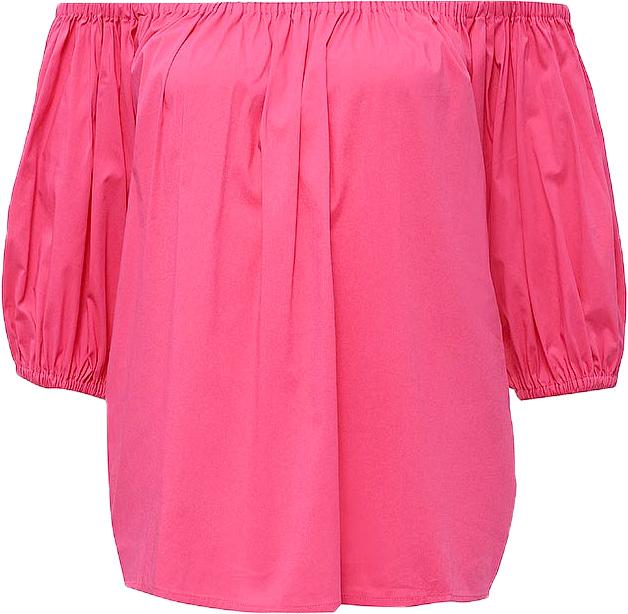 Блузка женская Baon, цвет: розовый. B197064_Pale Magenta. Размер L (48)B197064_Pale MagentaБлузка женская Baon выполнена из хлопка, эластана и полиамида. Манжеты и вырез горловины дополнены эластичными вставками-резинками.