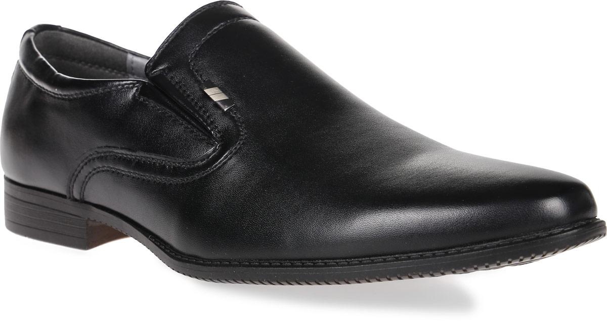Туфли для мальчика Kakadu, цвет: черный. 6058A. Размер 386058AСтильные туфли от Kakadu придутся по душе, как юным модникам, так и их заботливым родителям. Модель выполнена из синтетической кожи. Стелька из натуральной кожи гарантирует удобство и комфорт. Подошва из термопластичной резины обеспечит легкость и естественную свободу движений.