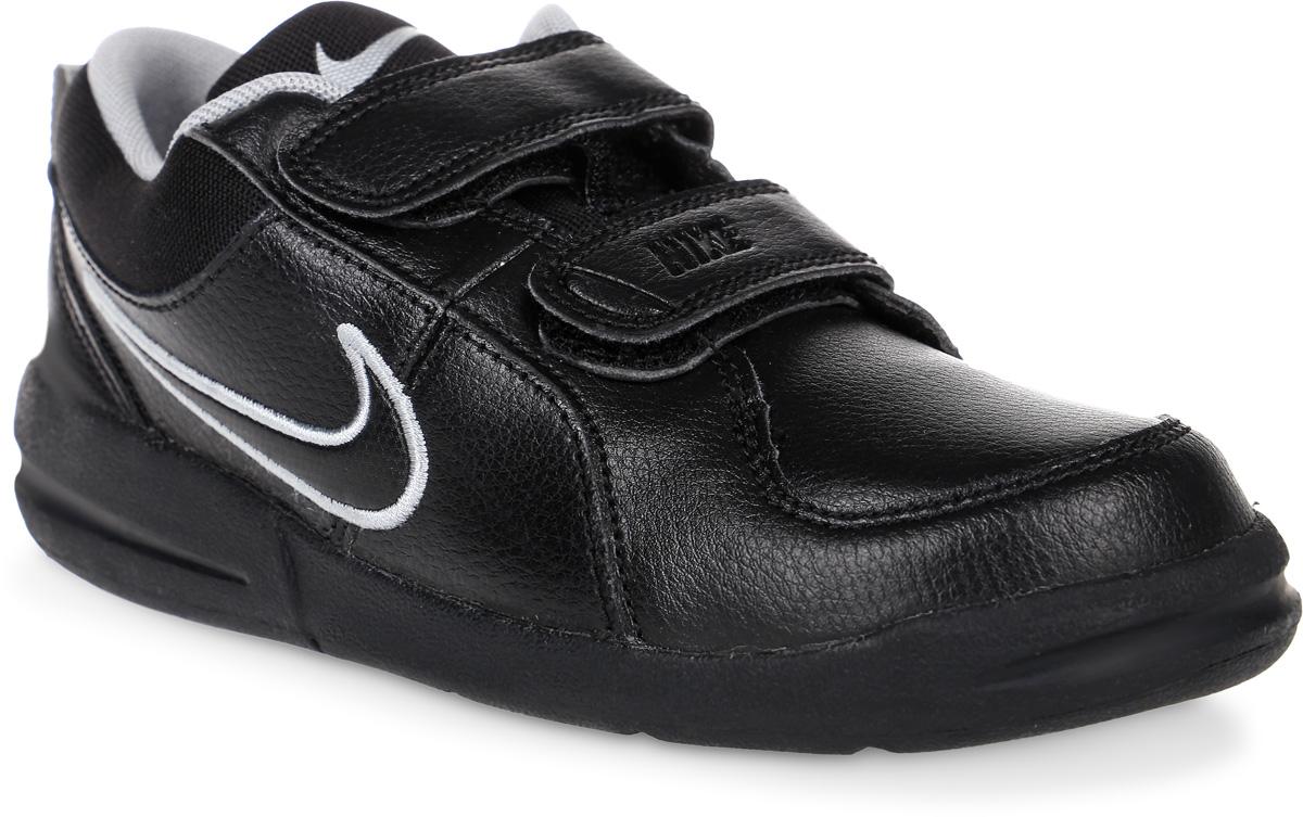 Кроссовки для мальчика Nike Pico 4, цвет: черный. 454500-001. Размер 2 (33)454500-001Кроссовки для мальчика Pico 4 от Nike, выполненные из натуральной и искусственной кожи, дополнены вставками из текстиля. Ремешки с застежками-липучками надежно фиксируют модель на ноге. Текстильная подкладка не натирает. Промежуточная подошва обеспечивает отличную амортизацию. Подошва дополнена рифлением.