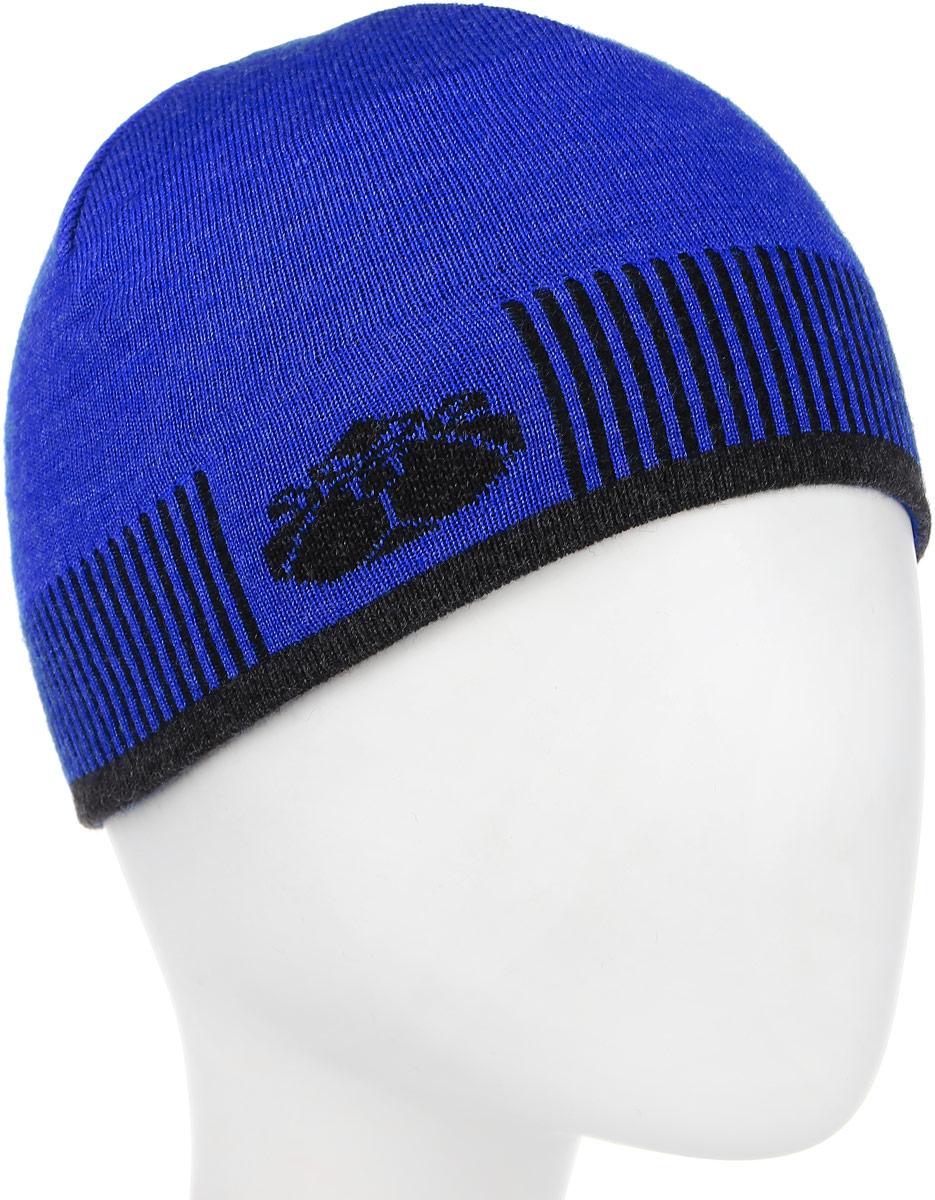 Шапка женская Anti, цвет: синий, темно-серый. 012.00012.04. Размер 50/52012.00012.04Стильная шапка Anti отлично дополнит ваш образ в прохладную погоду. Содержание шерсти и акрила отлично сохраняет тепло и обеспечивает удобную посадку. Такая модель комфортна и приятна на ощупь, она великолепно подчеркнет ваш вкус.Шапка Ant станет отличным дополнением к вашему осеннему или зимнему гардеробу, в ней вам будет уютно и тепло!