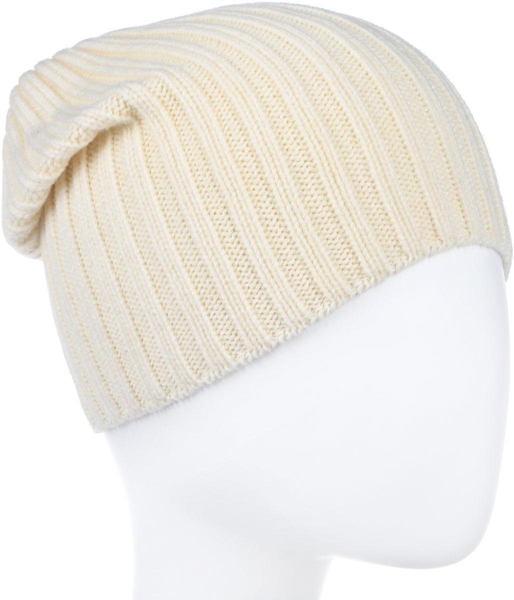 Шапка мужская Canoe Trango, цвет: белый. 3442080. Размер 56/593442080Стильная мужская шапка Canoe Trango отлично дополнит ваш образ в холодную погоду. Сочетание шерсти и акрила максимально сохраняет тепло и обеспечивает удобную посадку. Удлиненная шапка имеет специальную вязку ластиком. Такая модель комфортна и приятна на ощупь, она великолепно подчеркнет ваш вкус.Такая шапка станет отличным дополнением к вашему осеннему или зимнему гардеробу, в ней вам будет уютно и тепло!