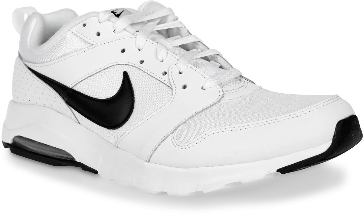 Кроссовки для бега мужские Nike Am 16, цвет: белый, черный. 819798-100. Размер 8 (40,5)819798-100Кроссовки для бега Am 16 от Nike выполнены из текстиля, натуральной и искусственной кожи. Подкладка и стелька из текстиля комфортны при движении. Шнуровка надежно зафиксирует модель на ноге. Подошва дополнена рифлением. Абсолютный комфорт и гибкость достигаются благодаря видимой вставке Max Air под пяткой и эластичными желобкам в средней части стопы.