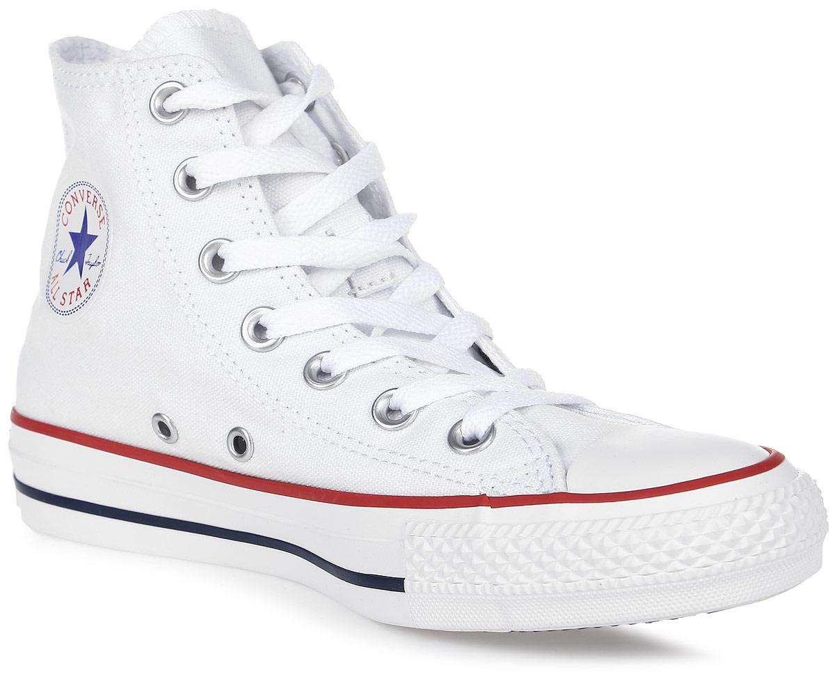 Кеды Converse Chuck Taylor All Star Core, цвет: белый. M7650. Размер 5,5 (38)M7650Высокие кеды Chuck Taylor All Star Core от Converse займут достойное место среди вашей обуви.Модель выполнена из плотного текстиля и оформлена на одной из боковых сторон металлическими люверсами и фирменной термоаппликацией, на подошве - прорезиненной накладкой и контрастными полосками. Мыс изделия дополнен классической для кед прорезиненной вставкой. Классическая шнуровка обеспечивает надежную фиксацию обуви на ноге. Стелька из материала EVA с текстильной поверхностью комфортна при движении. Гибкая резиновая подошва с рифлением гарантирует идеальное сцепление с любыми поверхностями. В таких кедах вашим ногам будет комфортно и уютно.