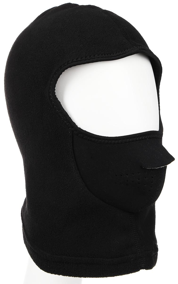 Шапка-маска мужская Norfin, цвет: черный. 303320. Размер L303320Шапка-маска мужская Norfin идеально подойдет для активного отдыха холодной зимой. Изготовлена модель из теплого мягкого флиса, обеспечивающего комфорт, ветронепродуваемость и отведение лишней влаги.Шапка-маска плотно облегает всю голову и оставляет открытой одну линию глаз.