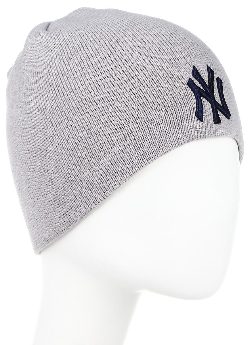 Шапка New Era Nhl Cuff Knit, цвет: серый. 11277693. Размер универсальный11277693-OTCШапка с вышитым логотипом. Тянущаяся ткань обеспечивает комфортную посадку.