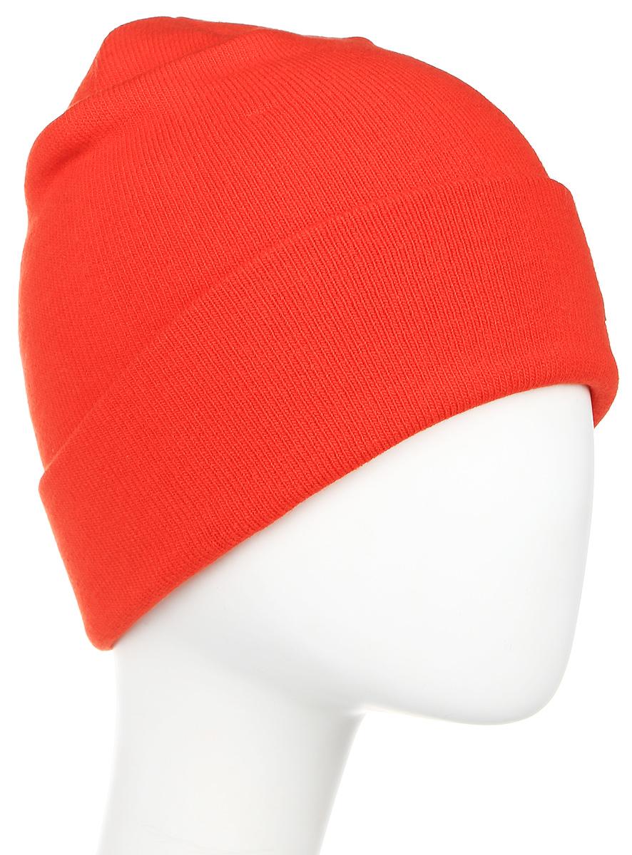 Шапка The North Face Dock Worker Beanie, цвет: оранжевый. T0CLN5HCU. Размер универсальныйT0CLN5HCUПростая классическая модель шапки-бини сочетает в себе интересный винтажный стиль и традиционную вязку, обеспечивая тепло в любую погоду в городе. Регулируемый отворот можно подвернуть или опустить.