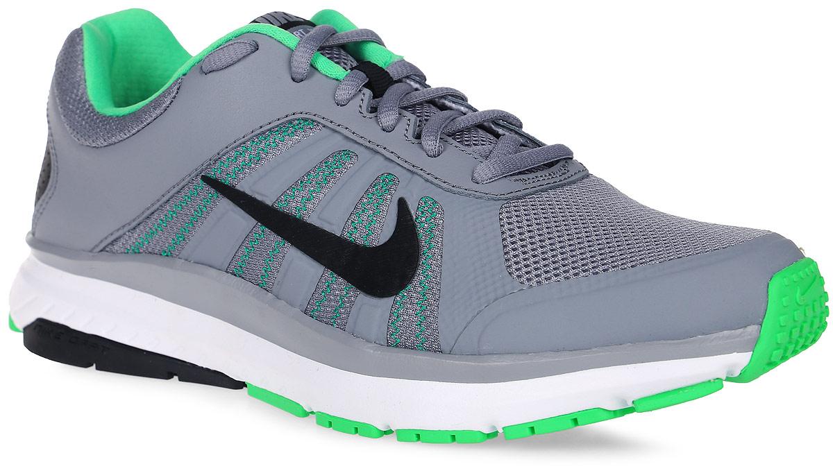 Кроссовки для бега мужские Nike Dart 12, цвет: серый. 831532-014. Размер 8,5 (41)831532-014Модные мужские кроссовки для бега Dart 12 от Nike, выполненные из текстиля и натуральной кожи, дополнены бесшовными накладками. Подкладка и стелька из текстиля обеспечивают комфорт. Шнуровка надежно зафиксирует модель на ноге. Подошва дополнена рифлением.