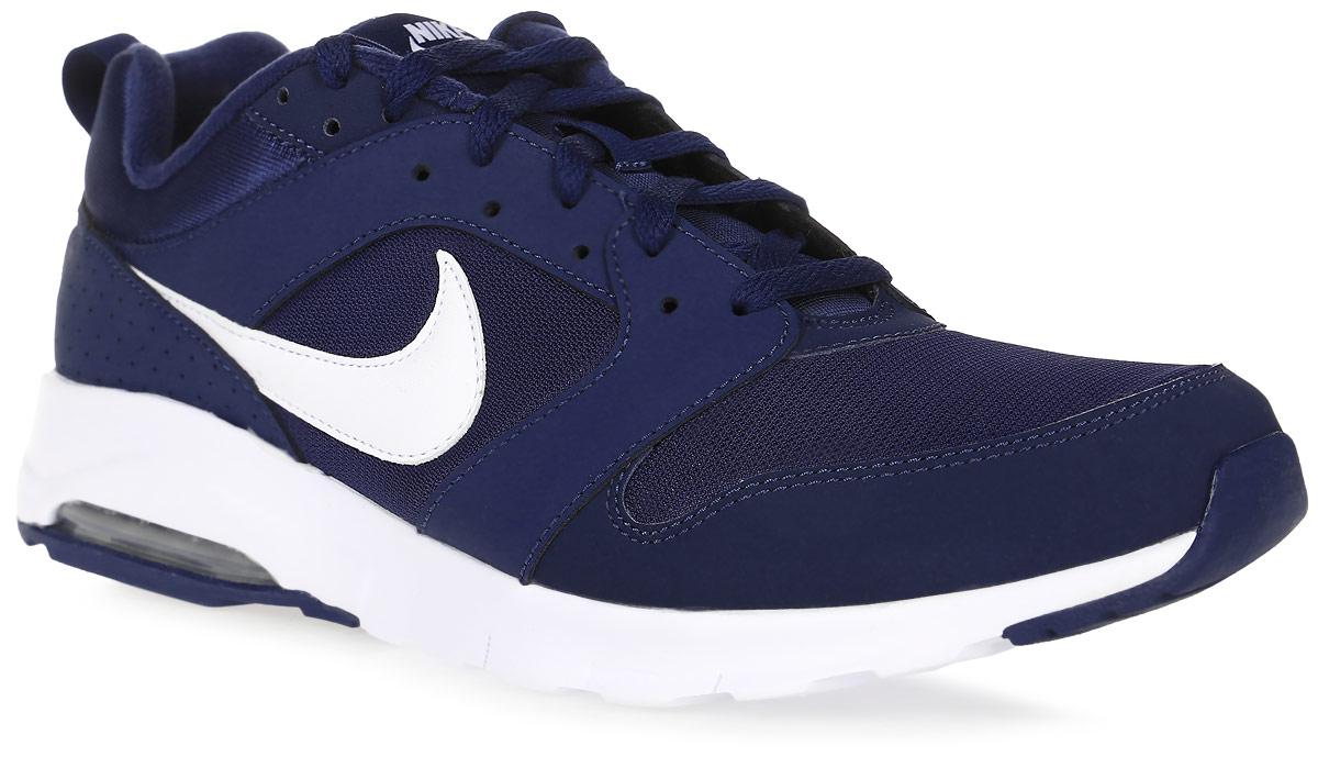 Кроссовки для бега мужские Nike Am 16, цвет: темно-синий. 819798-410. Размер 8 (40,5)819798-410Кроссовки для бега Am 16 от Nike выполнены из текстиля, натуральной и искусственной кожи. Подкладка и стелька из текстиля комфортны при движении. Шнуровка надежно зафиксирует модель на ноге. Подошва дополнена рифлением. Абсолютный комфорт и гибкость достигаются благодаря видимой вставке Max Air под пяткой и эластичными желобкам в средней части стопы.