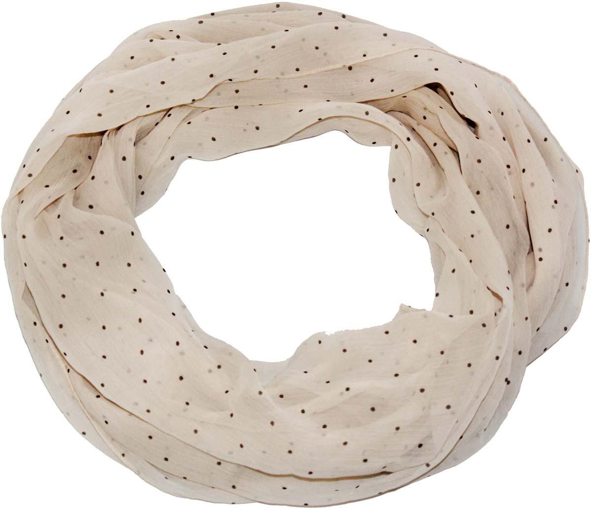 Шарф женский Ethnica, цвет: светло-бежевый. 262040. Размер 50 см х 170 см262040Стильный шарф привлекательной расцветки изготовлен из 100% вискозы. Он удачно дополнит ваш гардероб и поможет создать новый повседневный образ, добавить в него яркие краски. Отличный вариант для тех, кто стремится к самовыражению и новизне!