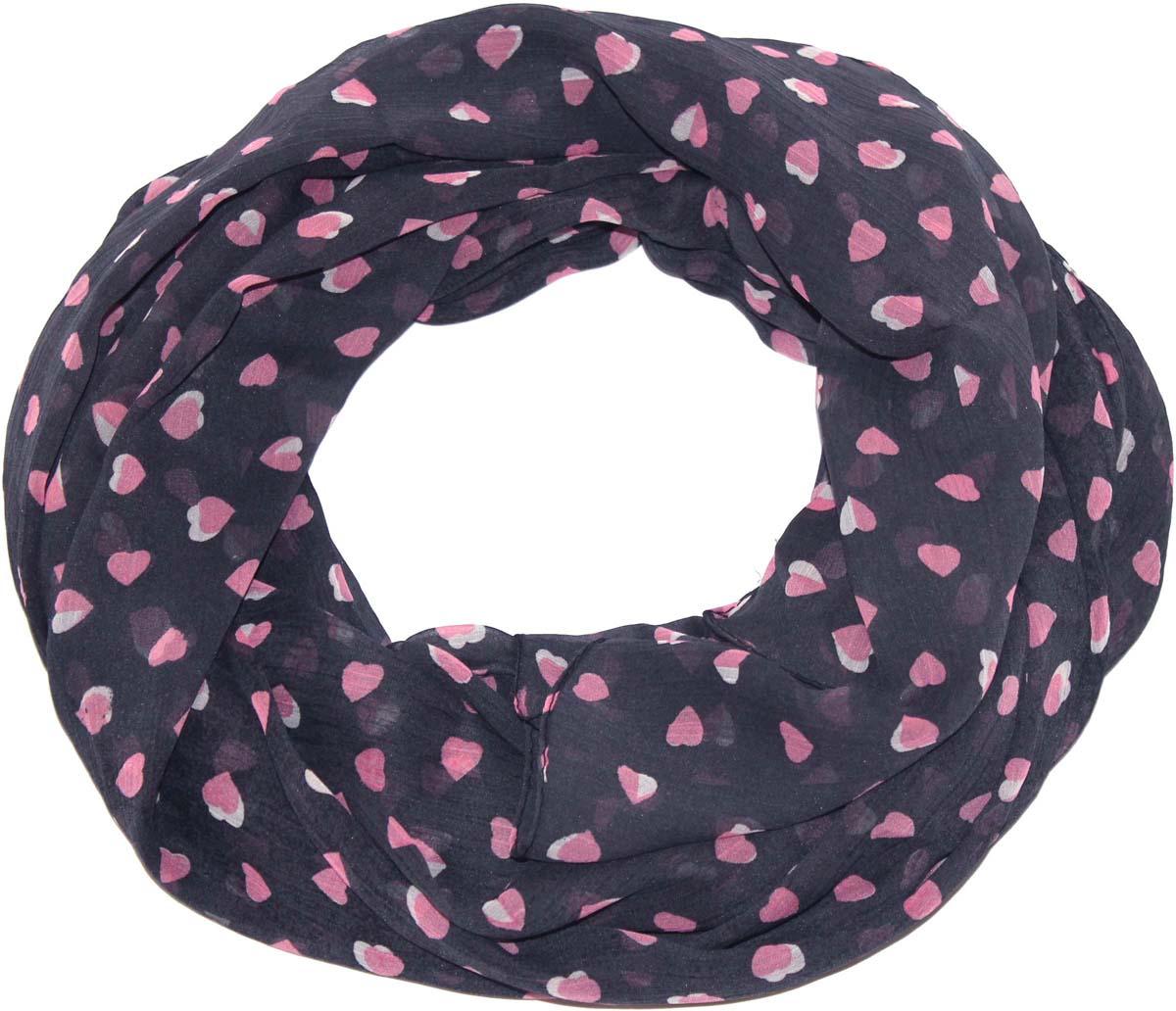 Шарф женский Ethnica, цвет: темно-серый, розовый. 262040. Размер 50 см х 170 см262040Стильный шарф привлекательной расцветки изготовлен из 100% вискозы. Он удачно дополнит ваш гардероб и поможет создать новый повседневный образ, добавить в него яркие краски. Отличный вариант для тех, кто стремится к самовыражению и новизне!