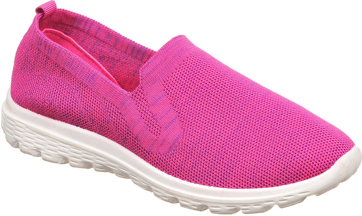 Слипоны женские TopLand, цвет: розовый, синий. 2555-KK72085R. Размер 362555-KK72085RСтильные женские слипоны от TopLand выполнены из текстиля. Внутренняя поверхность и стелька из текстиля комфортны при движении. Подошва дополнена рифлением.