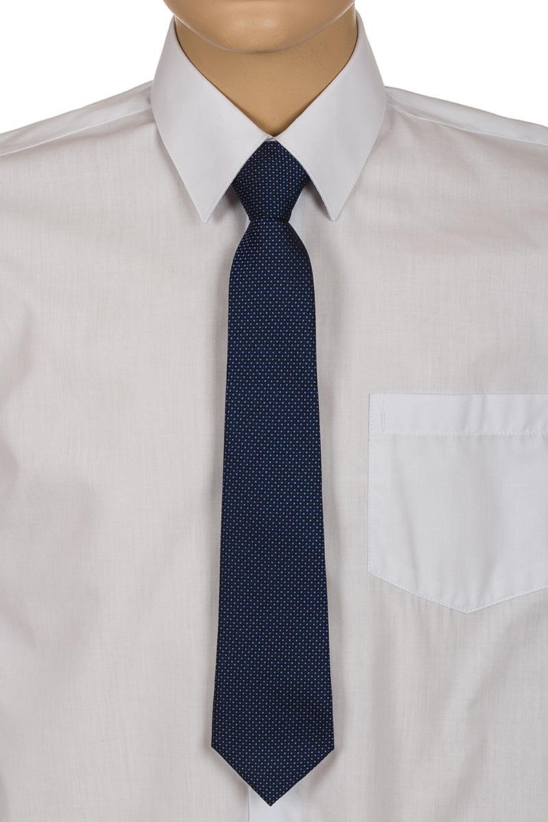 Галстук для мальчика Brostem, цвет: темно-синий, белый. RKCAL0229. Размер универсальныйRKCAL0229Модный галстук для мальчика Brostem изготовлен из качественного полиэстера. Такой аксессуар придаст юному кавалеру солидности.