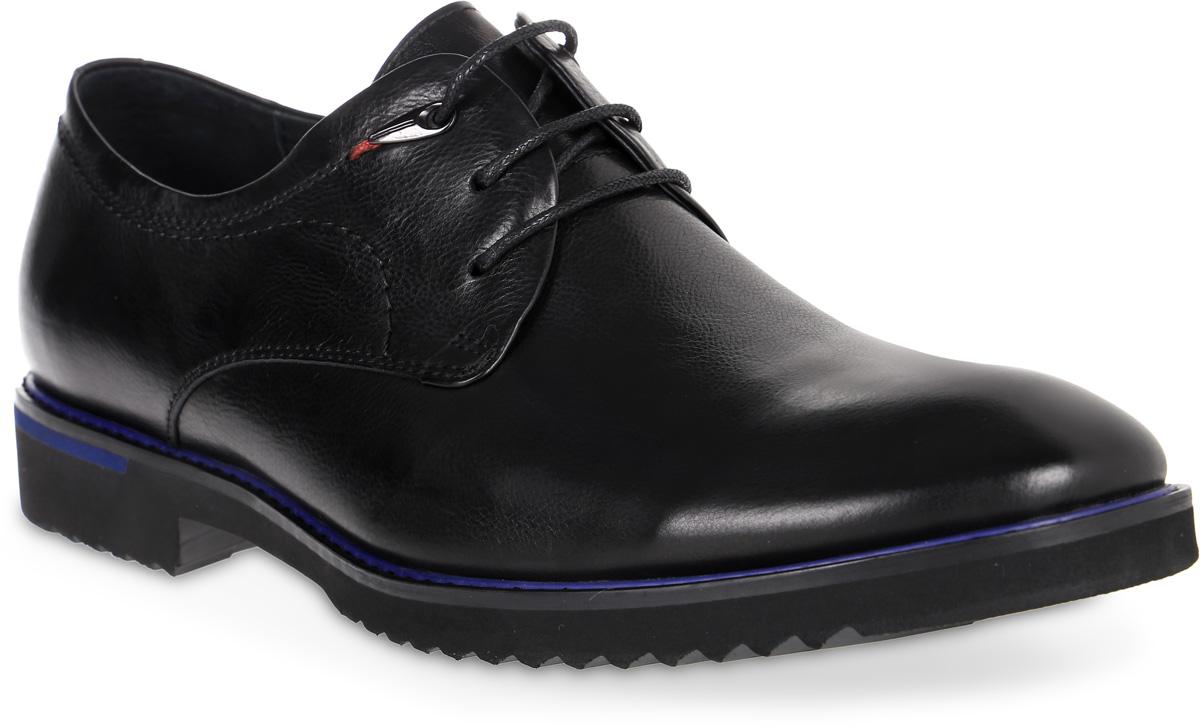Полуботинки мужские Renaissance Elite, цвет: черный. 16201Z-2-1K. Размер 4016201Z-2-1KСтильные мужские полуботинки Renaissance выполнены из натуральной кожи. Удобная шнуровка надежно фиксирует модель на стопе. Такие полуботинки отлично подойдут для тех, кто хочет подчеркнуть свою индивидуальность. В этой обуви вы будете чувствовать себя комфортно и в офисе, и на молодежной вечеринке.