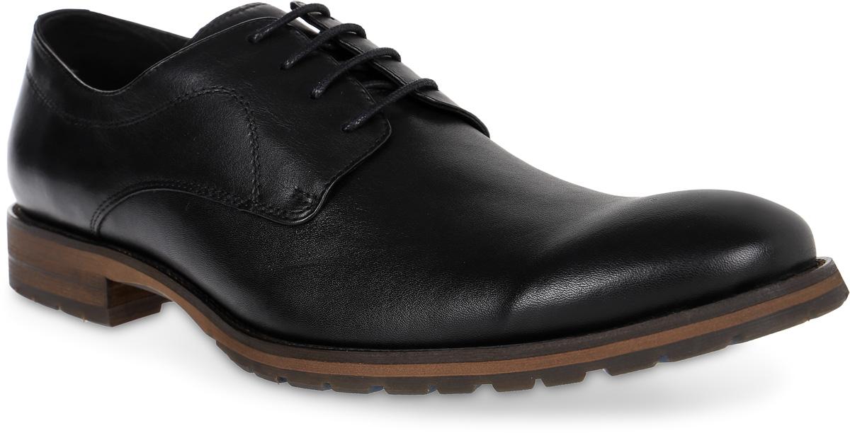 Полуботинки мужские Renaissance Elite, цвет: черный. 16223Z-3-2K. Размер 4316223Z-3-2KСтильные мужские полуботинки Renaissance выполнены из натуральной кожи. Удобная шнуровка надежно фиксирует модель на стопе. Такие полуботинки отлично подойдут для тех, кто хочет подчеркнуть свою индивидуальность. В этой обуви вы будете чувствовать себя комфортно и в офисе, и на молодежной вечеринке.