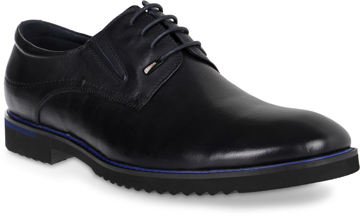 Полуботинки мужские Renaissance Elite, цвет: темно-синий. 16201Z-4-2K. Размер 4316201Z-4-2KСтильные мужские полуботинки Renaissance выполнены из натуральной кожи. Удобная шнуровка надежно фиксирует модель на стопе. Такие полуботинки отлично подойдут для тех, кто хочет подчеркнуть свою индивидуальность. В этой обуви вы будете чувствовать себя комфортно и в офисе, и на молодежной вечеринке.