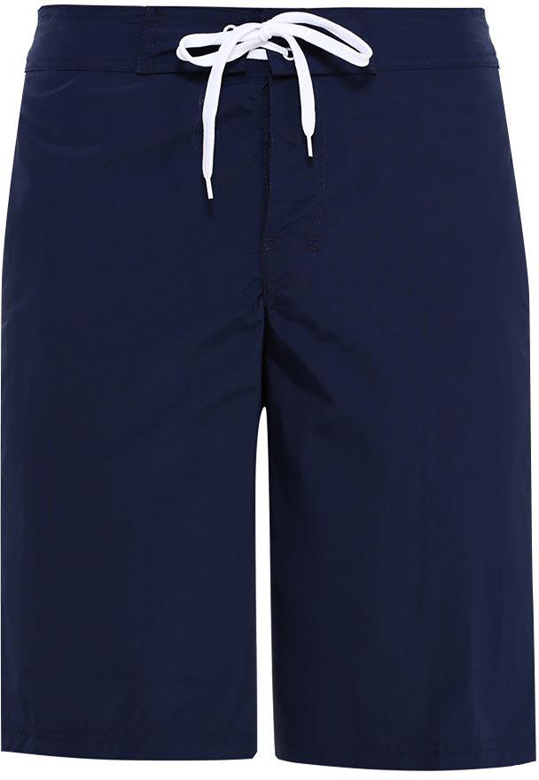Шорты пляжные мужские Sela, цвет: темно-синий. SHsp-215/402-7214. Размер 46SHsp-215/402-7214Мужские пляжные шорты Sela, изготовленные из качественного материала, - идеальный вариант, как для купания, так и для отдыха на пляже. Модель прямого кроя с вшитыми сетчатыми трусами имеет эластичный пояс, регулируемый шнурком. Изделие с имитацией ширинки дополнено двумя прорезными карманами спереди и накладным карманом сзади.Шорты быстро сохнут и сохраняют первоначальный вид и форму даже при длительном использовании.