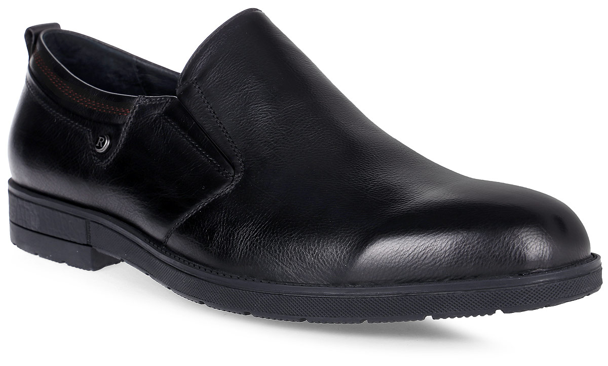 Полуботинки мужские Renaissance Elite, цвет: черный. 16202Z-4-1K. Размер 4216202Z-4-1KСтильные мужские полуботинки Renaissance выполнены из натуральной кожи. Такие полуботинки отлично подойдут для тех, кто хочет подчеркнуть свою индивидуальность. В этой обуви вы будете чувствовать себя комфортно и в офисе, и на молодежной вечеринке.