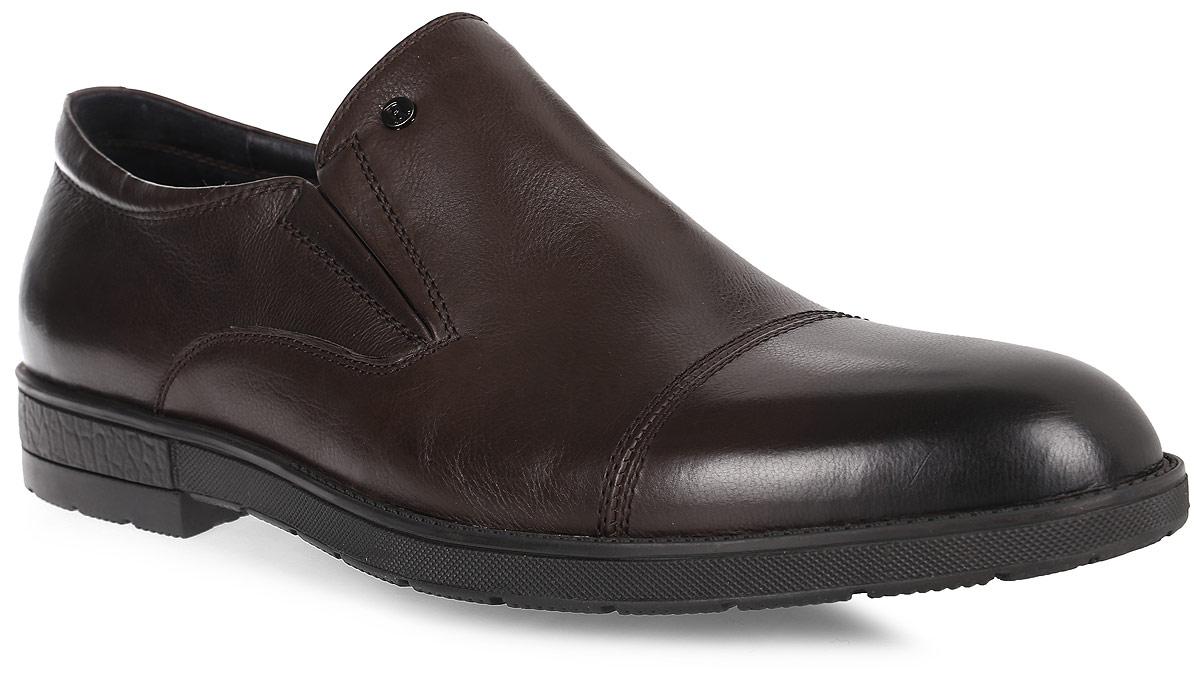 Полуботинки мужские Renaissance Elite, цвет: темно-коричневый. 16202Z-2-2K. Размер 4316202Z-2-2KСтильные мужские полуботинки Renaissance выполнены из натуральной кожи. Такие полуботинки отлично подойдут для тех, кто хочет подчеркнуть свою индивидуальность. В этой обуви вы будете чувствовать себя комфортно и в офисе, и на молодежной вечеринке.