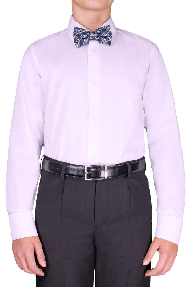 Рубашка для мальчика Orby School, цвет: сиреневый. 70404_OLB_вар.4. Размер 158, 11-12 лет70404_OLB_вар.4Классическая рубашка для мальчика Orby School выполнена из полиэстера и хлопка. Модель приталенного силуэта с отложным воротником и длинными рукавами застегивается спереди на пуговицы. На рукавах предусмотрены манжеты с застежками-пуговицами. Лицевая сторона изделия оформлена внизу вышивкой. Лаконичная прострочка завершает композицию. Такая модель отлично сочетается и с вязаными изделиями, и с пиджаками из костюмной ткани.