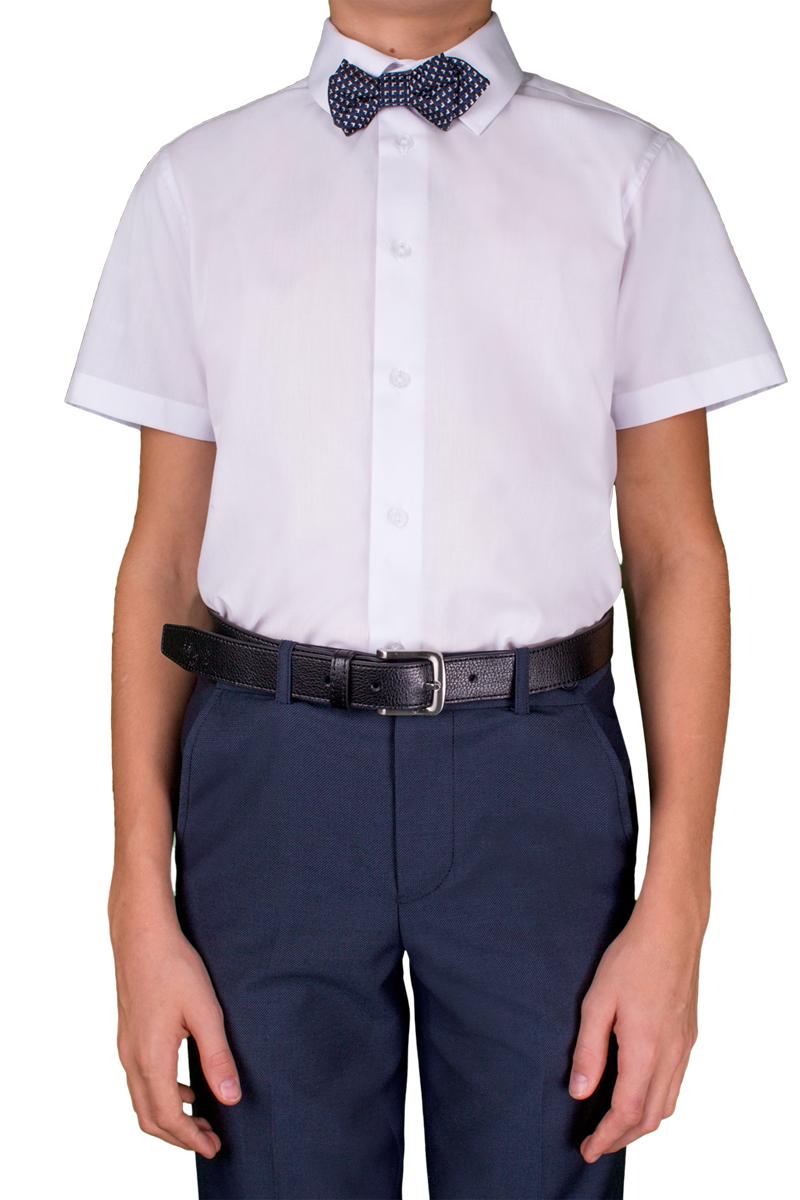 Рубашка для мальчика Orby, цвет: белый. 70405_OLB_вар.1. Размер 134, 9-10 лет70405_OLB_вар.1Стильная рубашка для мальчика Orby идеально подойдет для школы. Она необычайно мягкая, легкая и приятная на ощупь, не сковывает движения малыша и позволяет коже дышать, не раздражает даже самую нежную и чувствительную кожу ребенка, обеспечивая ему наибольший комфорт. Рубашка прямого кроя с коротким рукавом и классическим воротничком застегивается на пуговицы.Такая рубашка - незаменимая вещь для повседневного гардероба.