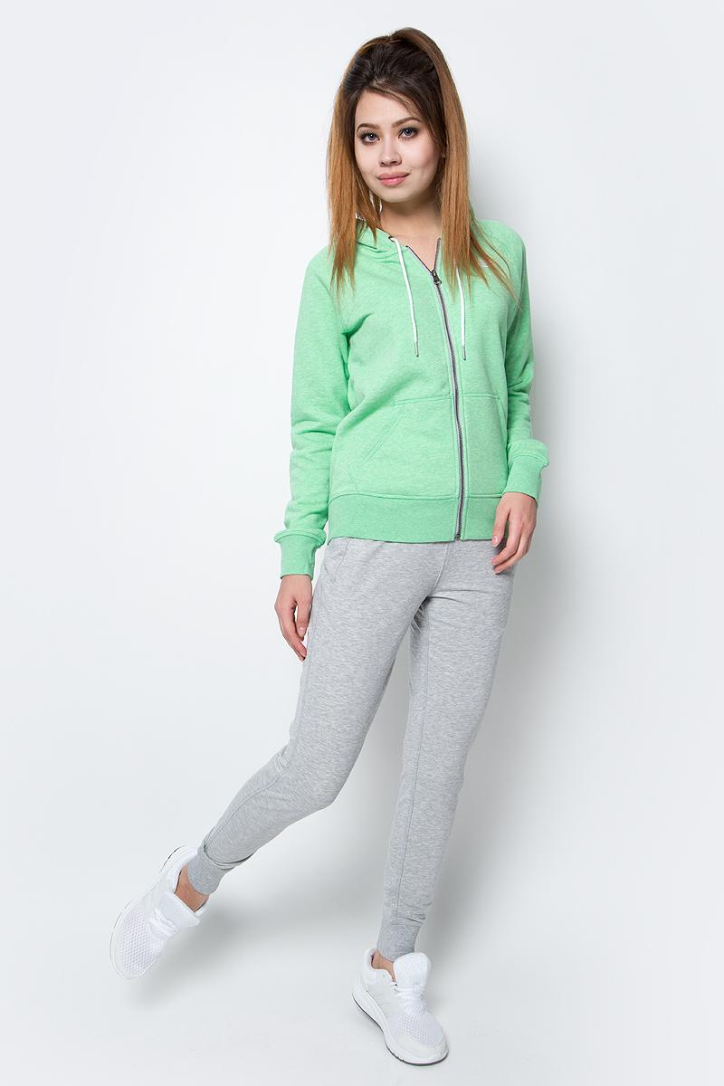 Худи женское New Balance Classic Full Zip Hoody, цвет: зеленый. WJ63550/VDJ. Размер L (48)WJ63550/VDJХуди женское Classic Full Zip Hoody отNew Balance выполнена из мягкого трикотажа, махровая внутренняя отделка. Имеет прямой крой, застежка на молнию, рукава-реглан, боковые карманы.