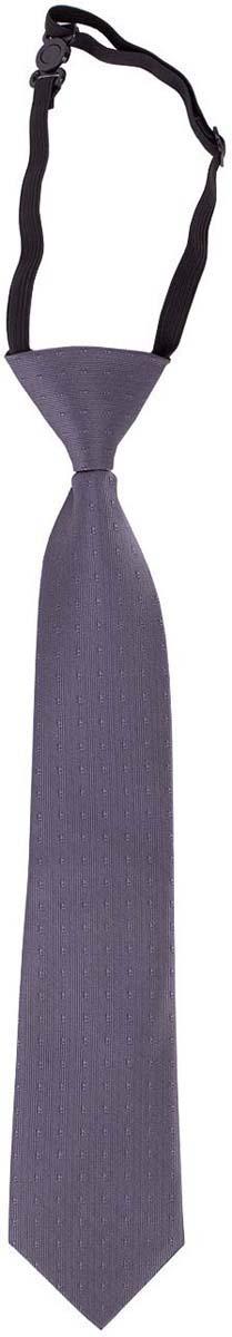 Галстук для мальчика Button Blue, цвет: серый. 217BBBS86010100. Размер универсальный217BBBS86010100Детские галстуки на резинке - удобное решение для создания элегантного образа. Несколько секунд и ученик из сорванца и непоседы превратится в настоящего джентльмена! Не забудьте купить детский галстук вместе с формой, ведь 1-го сентября он понадобится как никогда! Впрочем, и в другие дни лаконичный галстук для школьной формы - отличное дополнение.