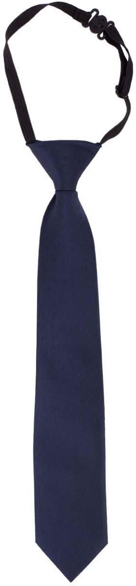 Галстук для мальчика Button Blue, цвет: темно-синий. 217BBBS86011000. Размер универсальный217BBBS86011000Детские галстуки на резинке - удобное решение для создания элегантного образа. Несколько секунд и ученик из сорванца и непоседы превратится в настоящего джентльмена! Не забудьте купить детский галстук вместе с формой, ведь 1-го сентября он понадобится как никогда! Впрочем, и в другие дни лаконичный галстук для школьной формы - отличное дополнение.