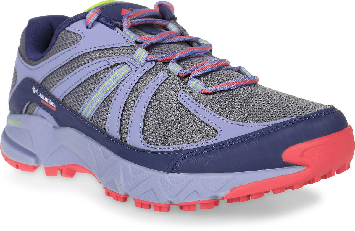 Кроссовки женские Columbia Bandon Trail, цвет: серый, сиреневый. 1718801-021. Размер 7 (37,5)1718801-021Комфортные женские кроссовки Bandon Trail от Columbia прекрасно подойдут для активного отдыха.Верх модели выполнен из мягкой дышащей сетки с синтетическими накладкамидля поддержки и отличной защитой мыска. Модель фиксируется на ноге шнуровкой. Подкладка исполнена из полиэстера. Анатомическая стелька из мягкого ЭВА-материала позволяет ногам чувствовать себя наиболее комфортно.Мягкая и отзывчивая подошва из материала Fluid FOAM c защитной пластиной Trail SHIELD в средней и носочной части. Подметка из материала GRYPTONITE с разнонаправленным протектором обеспечивает сцепление на различныхповерхностях. Предусмотрена дополнительная амортизирующая прокладка под пяткой.Благодаря отличной защите, амортизации и сцеплению такие кроссовки отлично подойдут для трейлового бега.