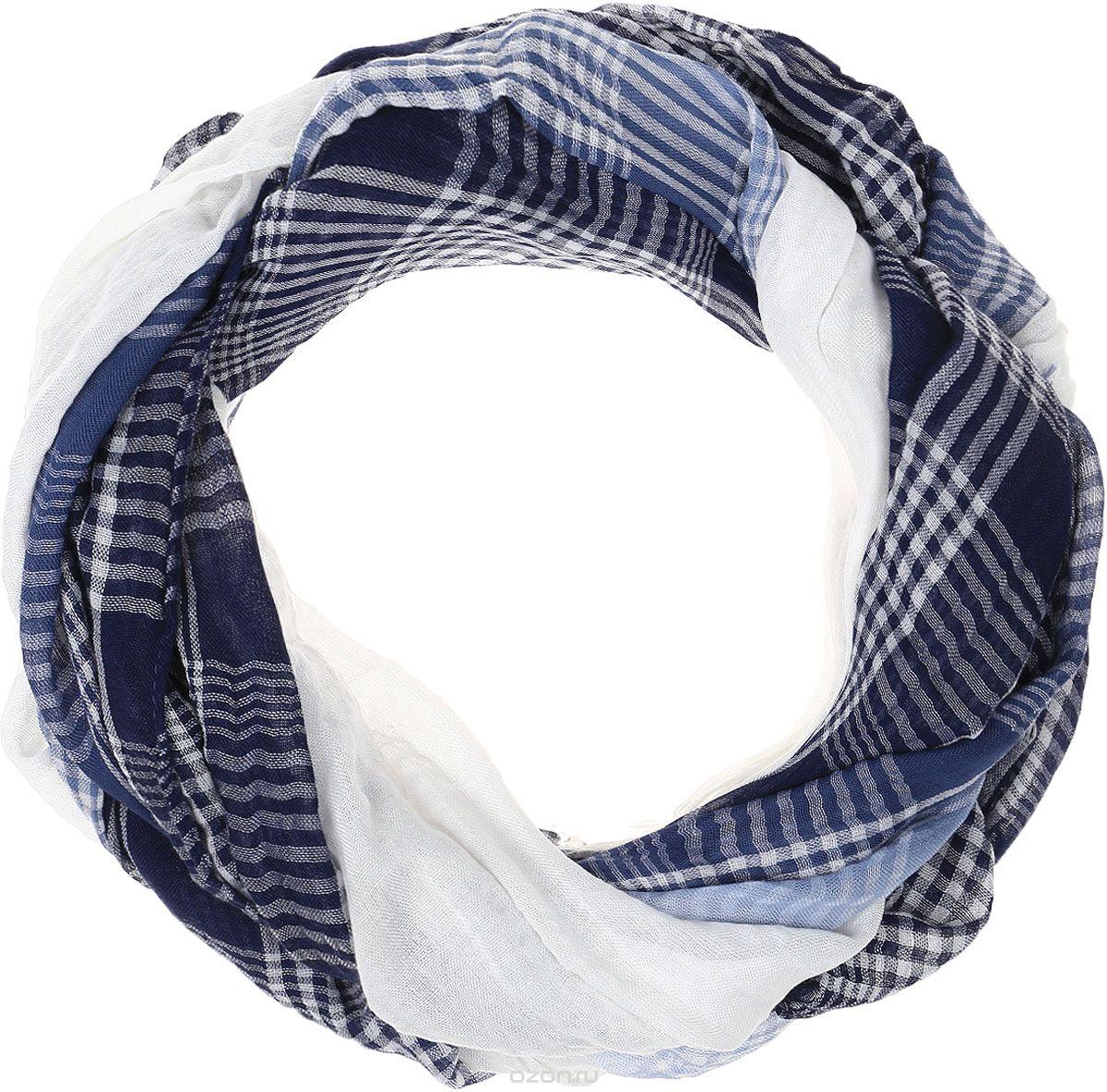 Палантин женский Vitta pelle, цвет: синий. Ro04PC3668/28. Размер 90 см х 180 смRo04PC3668/28Палантин женский Vitta pelle выполнен из качественного материала. Модель оформлена оригинальным принтом.