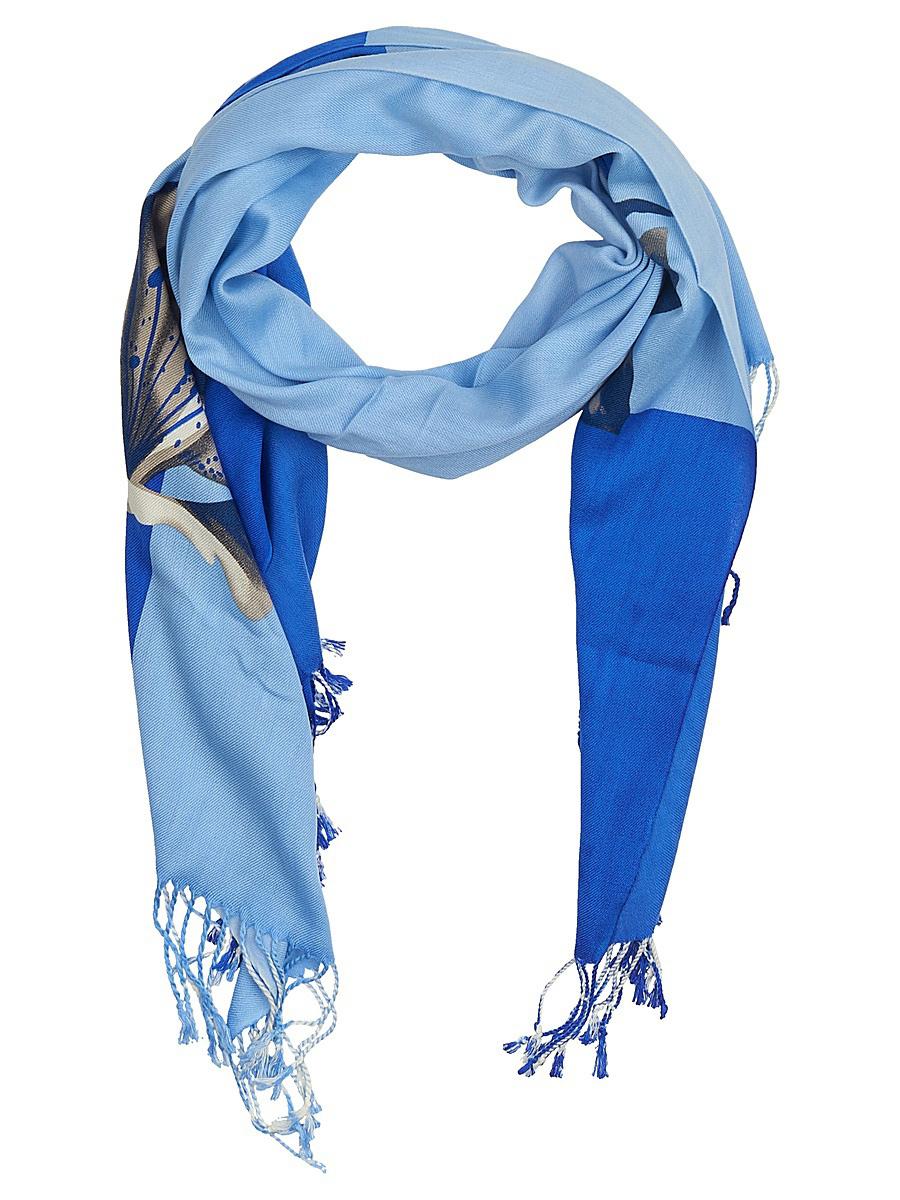 Палантин женский Vitta pelle, цвет: синий. Ro04PC3668/22. Размер 90 см х 180 смRo04PC3668/22Палантин женский Vitta pelle выполнен из качественного материала. Модель оформлена оригинальным принтом.