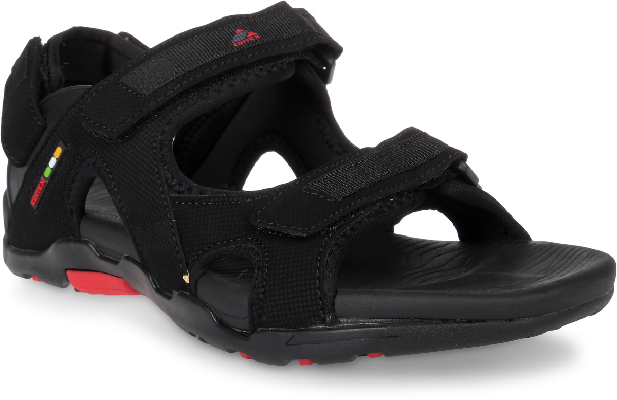 Сандалии мужские Editex, цвет: черный. S7017-1. Размер 41S7017-1Модные мужские сандалии от Editex выполнены из текстиля и искусственной кожи. Внутренняя поверхность из текстиля не натирает. Ремешки с застежками-липучками надежно зафиксируют модель на ноге. Стелька из материала ЭВА обеспечивает комфорт при движении. Подошва дополнена рифлением.