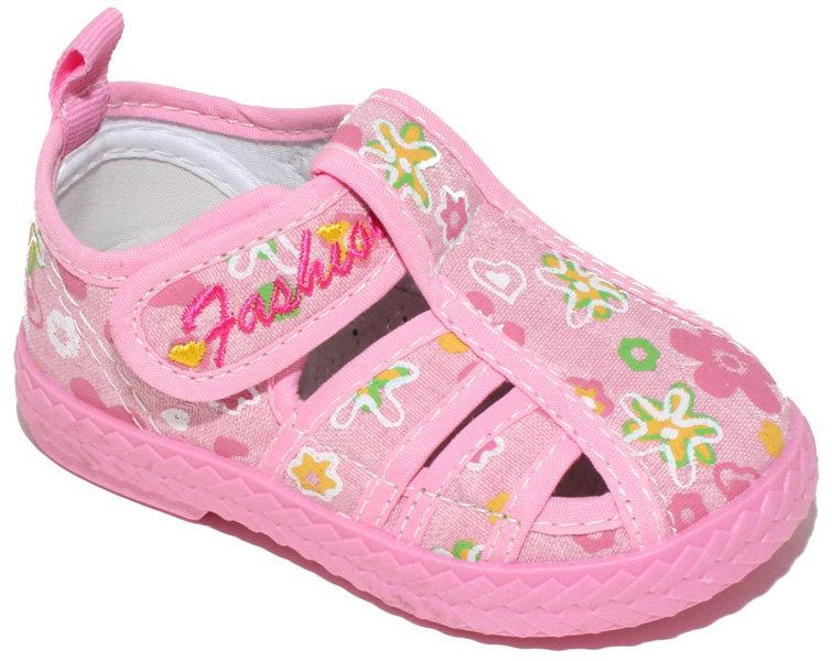 Сандалии для девочки Капитошка, цвет: розовый. A6525. Размер 21A6525Сандалии для девочки Капитошка выполнены из текстиля с ярким цветочным принтом. Прочная резиновая подошва обеспечивает хорошую амортизацию. Внутренняя поверхность из текстиля и стелька из натуральной кожи создают комфорт при движении. Модель фиксируется на ноге при помощи ремешка на липучке.