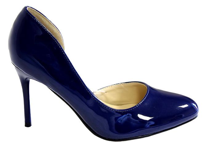 Туфли женские Camidy, цвет: синий. 706-22. Размер 38706-22Модные туфли от Camidy очаруют вас с первого взгляда.Модель выполнена из искусственной лаковой кожи. Зауженный носок смотрится стильно. Кожаная стелька обеспечивает комфорт при движении. Высокий каблук-шпилька устойчив.Роскошные туфли - необходимая вещь в гардеробе каждой женщины.