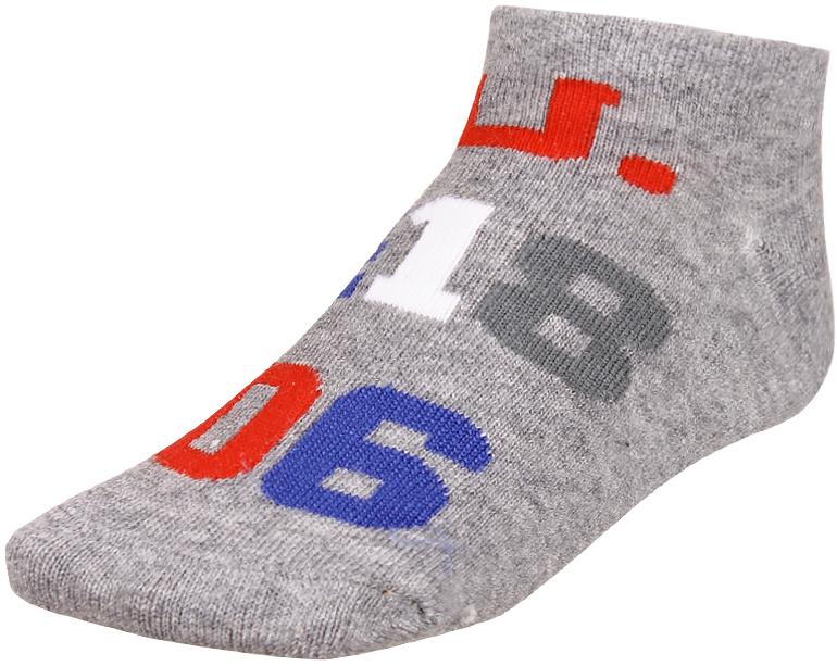 Носки детские Baykar, цвет: серый, 2 пары. 135912-20. Размер 10,5/12, 6-12 месяцев135912-20Детские носки Baykar изготовлены из высококачественного эластичного хлопка с добавлением полиамида. Укороченные носки имеют эластичную резинку, которая надежно фиксирует носки на ноге. В комплект входит 2 пары носков.