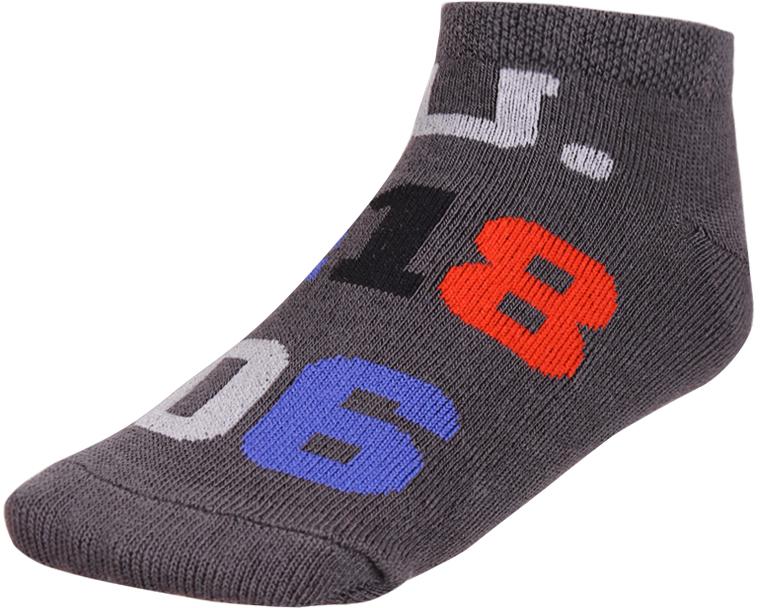 Носки для мальчика Baykar, цвет: темно-серый, мультиколор, 2 пары. 135912-51. Размер 18,5/20, 7 лет135912-51Детские носки Baykar изготовлены из высококачественного эластичного хлопка с добавлением полиамида. Укороченные носки имеют эластичную резинку, которая надежно фиксирует носки на ноге. В комплект входит 2 пары носков.