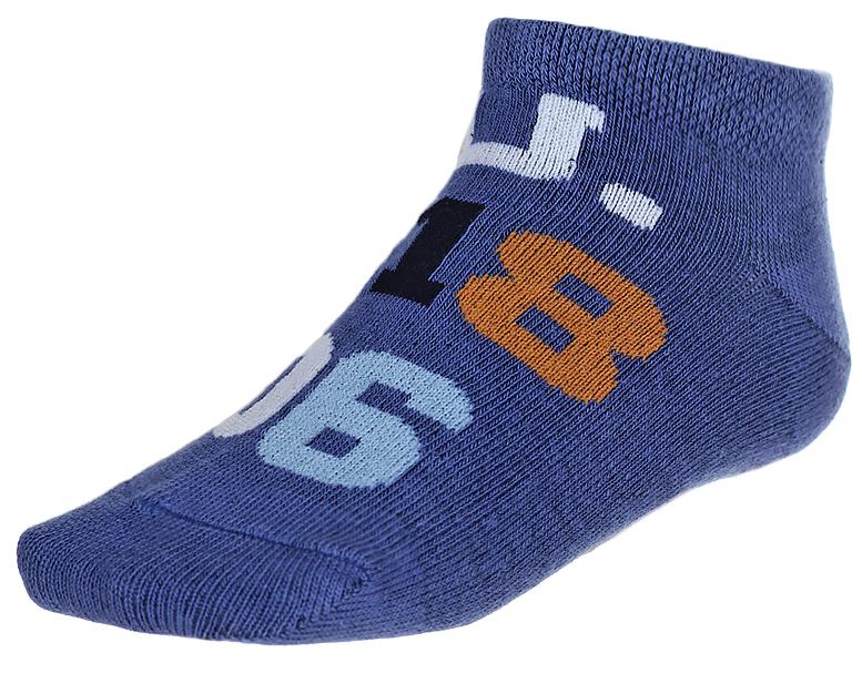 Носки детские Baykar, цвет: синий, 2 пары. 135912-9. Размер 14,5/16, 3 года135912-9Детские носки Baykar изготовлены из высококачественного эластичного хлопка с добавлением полиамида. Укороченные носки имеют эластичную резинку, которая надежно фиксирует носки на ноге. В комплект входит 2 пары носков.