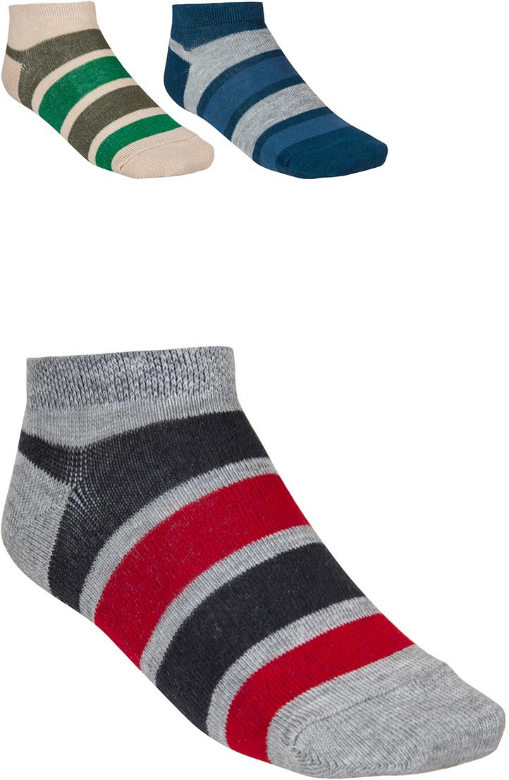 Носки для мальчика Baykar, цвет: серый, синий, бежевый, 3 пары. 181812-22. Размер 16,5/18, 5 лет181812-22Детские носки Baykar изготовлены из высококачественного эластичного хлопка с добавлением полиамида. Укороченные носки имеют эластичную резинку, которая надежно фиксирует носки на ноге. В комплект входит 3 пары носков.